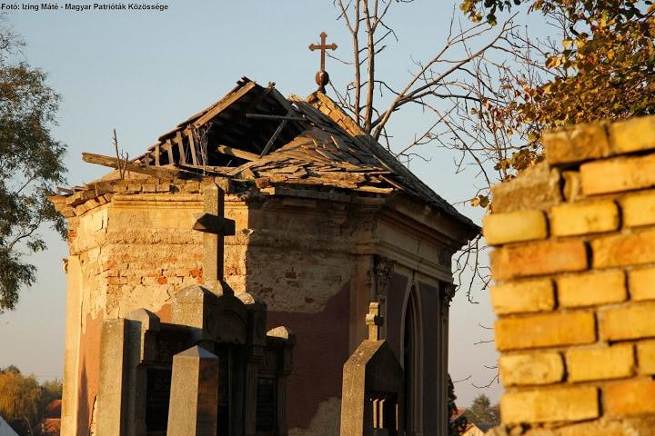 Pillanatkép a módosi temetőből