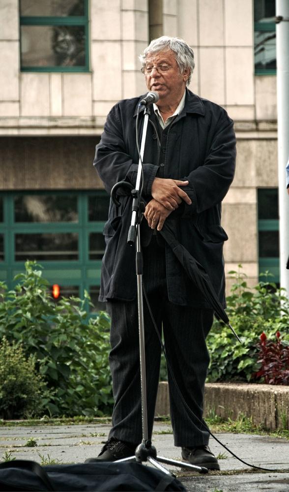 Dr. Gazda István tudománytörténész (Kép: K. G.)