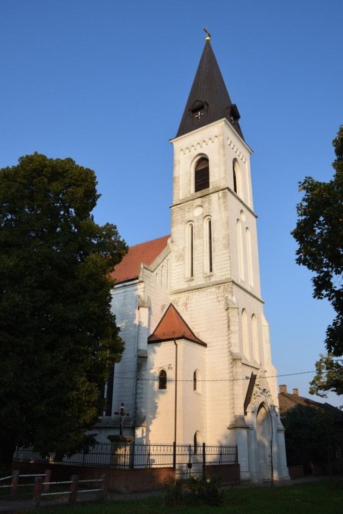 Az erdővégi magyar templom