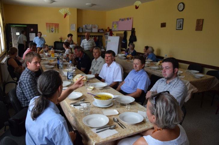 Gyülekezeti ebéd Maradékon
