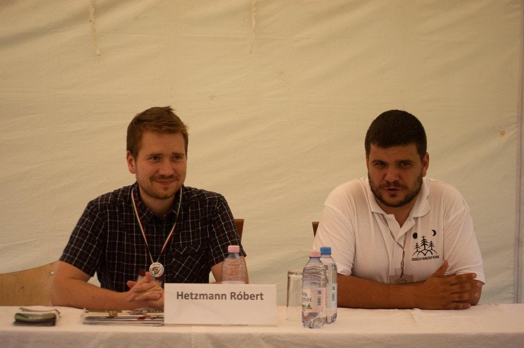 Hetzmann Róbert (Patrióták) és Sorbán Attila Örs (EMI)