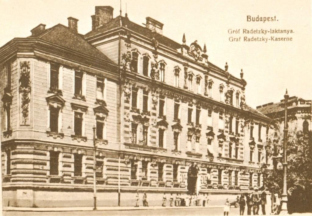 A Radetzky-laktanya világháború előtti látképe