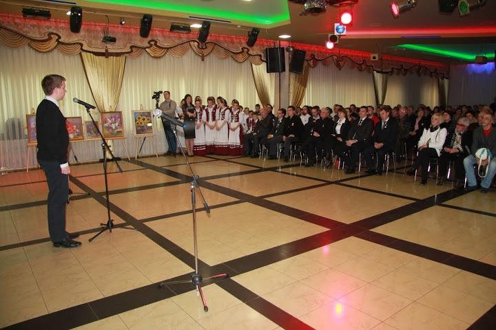 Hetzmann Róbert köszöntőbeszéde (Kép: Izing Máté)