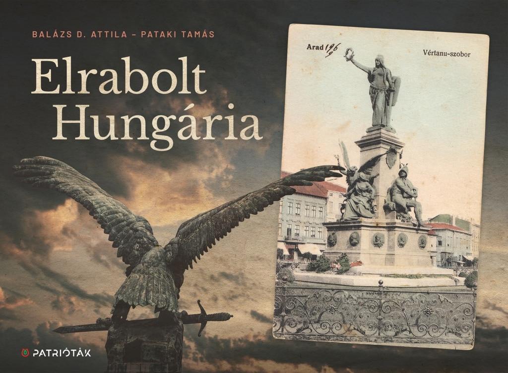 Elrabolt Hungária borító