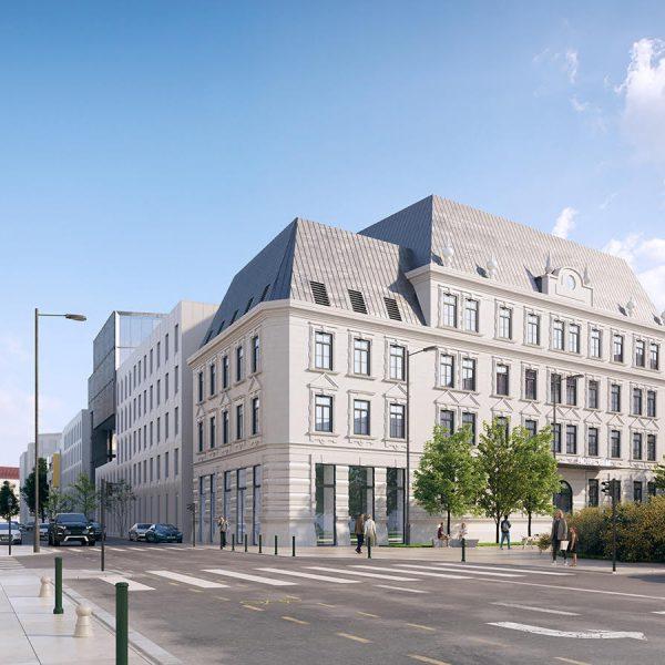 Radetzky-laktanya 2020-as átépítési tervek
