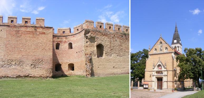 Újlak középkori városfalai (b) - A Kapisztrán-templom (j)